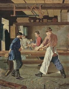Как изготавливают гондолы в Венеции