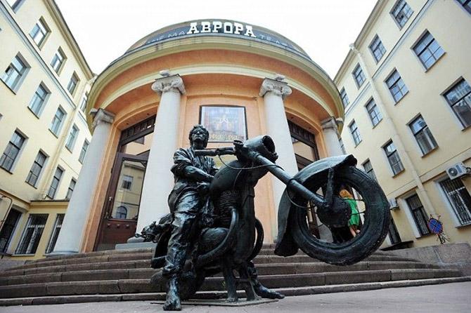 Деревянные скульптуры в Симферополе (19 фото)